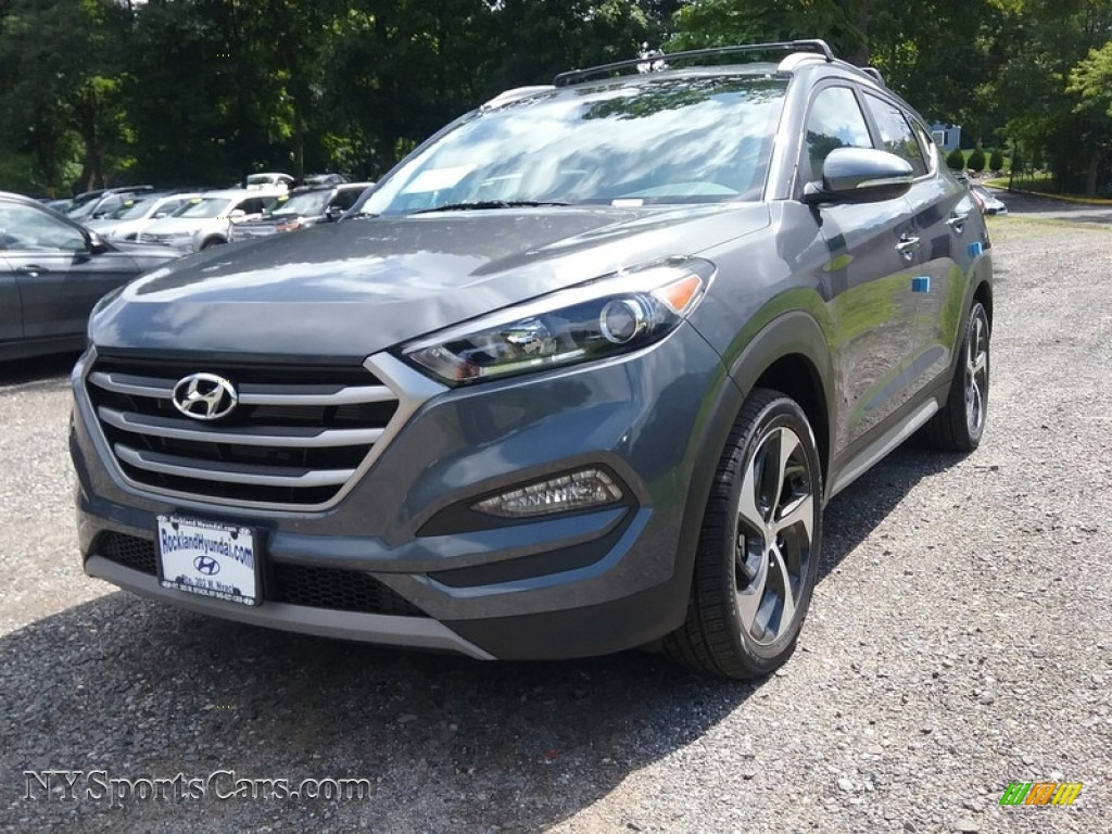 2018 Tucson Sport AWD - Coliseum Gray / Black photo #1