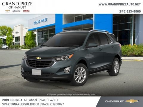 Nightfall Gray metallic 2019 Chevrolet Equinox LT AWD