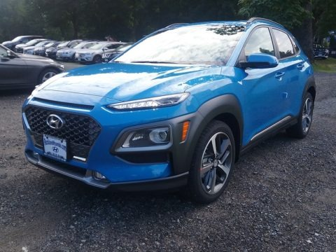 Surf Blue 2018 Hyundai Kona Limited