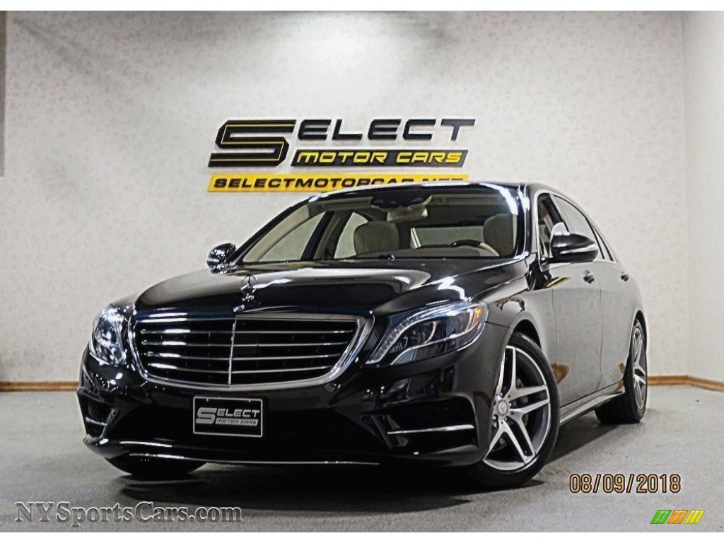 Verde Brook Metallic / Silk Beige/Espresso Brown Mercedes-Benz S 550 4MATIC Sedan