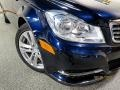 Mercedes-Benz C 300 4Matic Luxury Lunar Blue Metallic photo #7