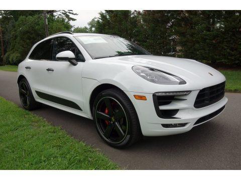White 2018 Porsche Macan GTS