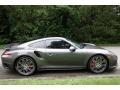 Porsche 911 Turbo Coupe Agate Grey Metallic photo #7