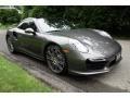 Porsche 911 Turbo Coupe Agate Grey Metallic photo #8