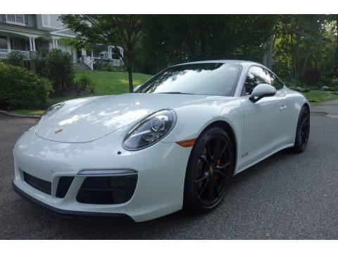 Carrara White Metallic 2017 Porsche 911 Carrera 4 GTS Coupe