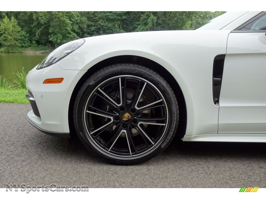 2018 Panamera 4 - White / Black photo #9