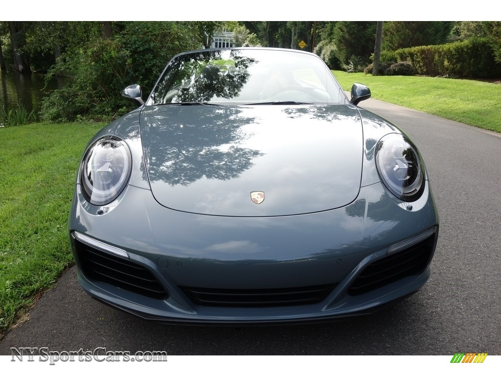 2017 911 Carrera 4S Cabriolet - Graphite Blue Metallic / Agate Grey photo #2