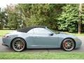 Porsche 911 Carrera 4S Cabriolet Graphite Blue Metallic photo #7