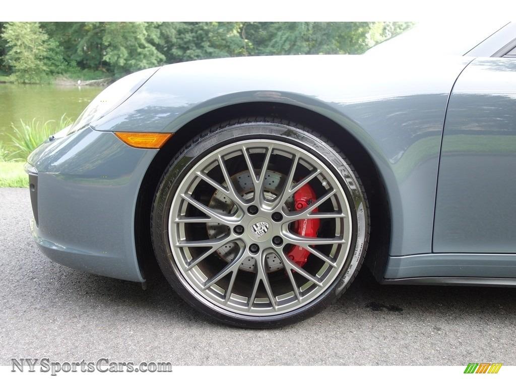 2017 911 Carrera 4S Cabriolet - Graphite Blue Metallic / Agate Grey photo #9