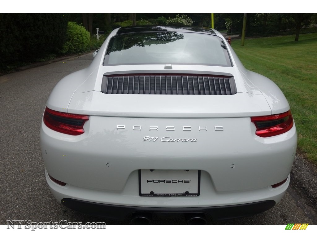 2019 911 Carrera Coupe - White / Black photo #5