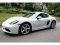 Porsche 718 Cayman  White photo #8