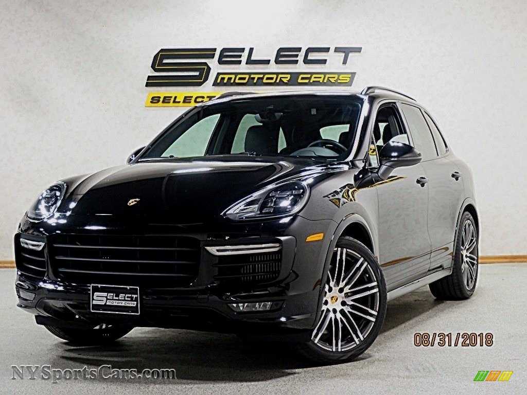 2016 Cayenne GTS - Jet Black Metallic / Black photo #1