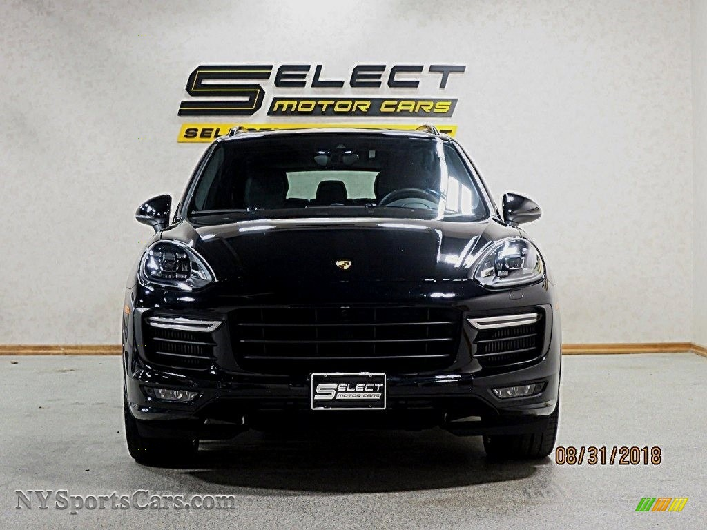 2016 Cayenne GTS - Jet Black Metallic / Black photo #2
