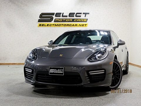 Agate Grey Metallic 2016 Porsche Panamera Turbo