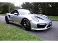 Porsche 911 Turbo S Cabriolet GT Silver Metallic photo #7
