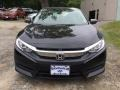 Honda Civic EX Sedan Crystal Black Pearl photo #2