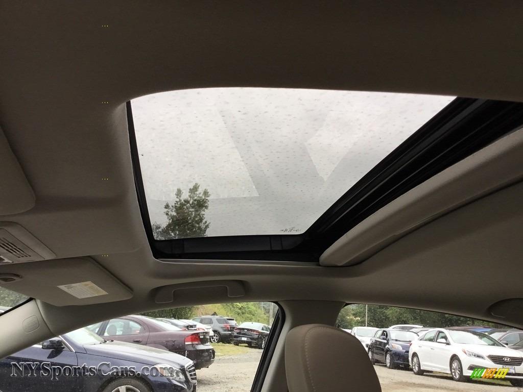 2017 Civic EX Sedan - Crystal Black Pearl / Ivory photo #11