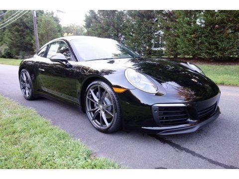 Black 2019 Porsche 911 Carrera T Coupe