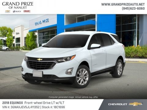 Summit White 2018 Chevrolet Equinox LT