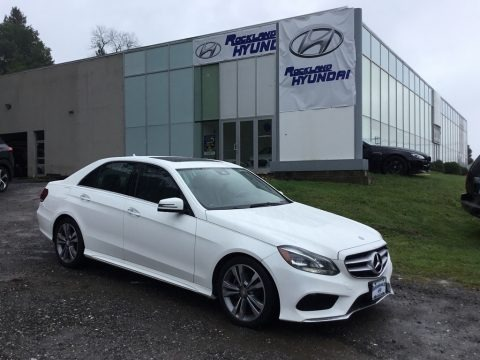 Diamond White Metallic 2014 Mercedes-Benz E 350 Sport Sedan