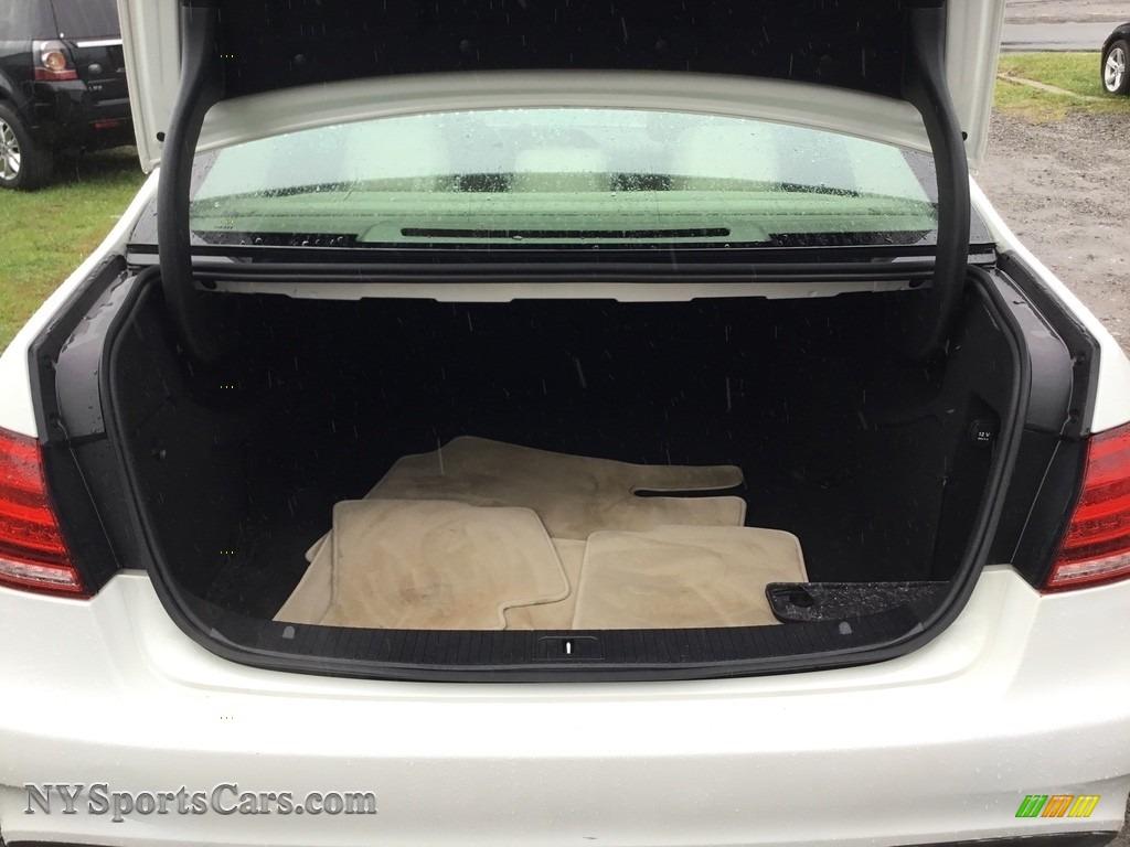 2014 E 350 Sport Sedan - Diamond White Metallic / Silk Beige/Espresso Brown photo #21