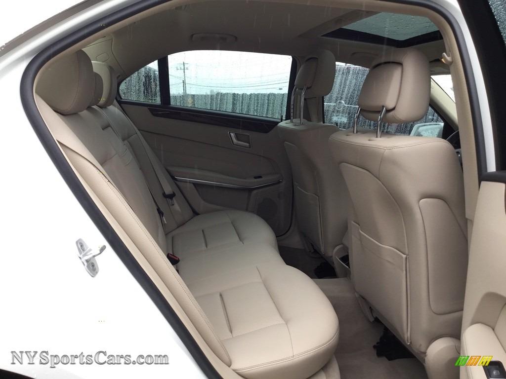 2014 E 350 Sport Sedan - Diamond White Metallic / Silk Beige/Espresso Brown photo #23