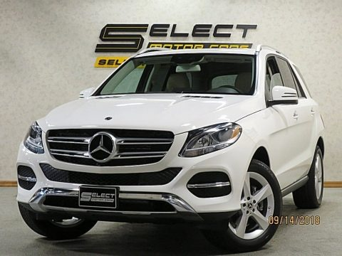 Polar White 2018 Mercedes-Benz GLE 350 4Matic