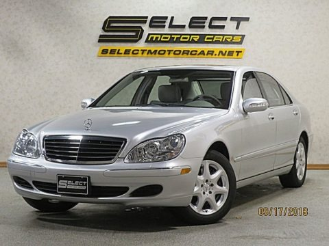 Brilliant Silver Metallic 2005 Mercedes-Benz S 500 4Matic Sedan