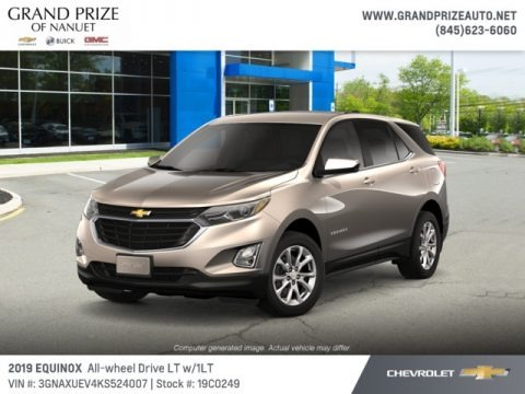 Pepperdust Metallic 2019 Chevrolet Equinox LT AWD