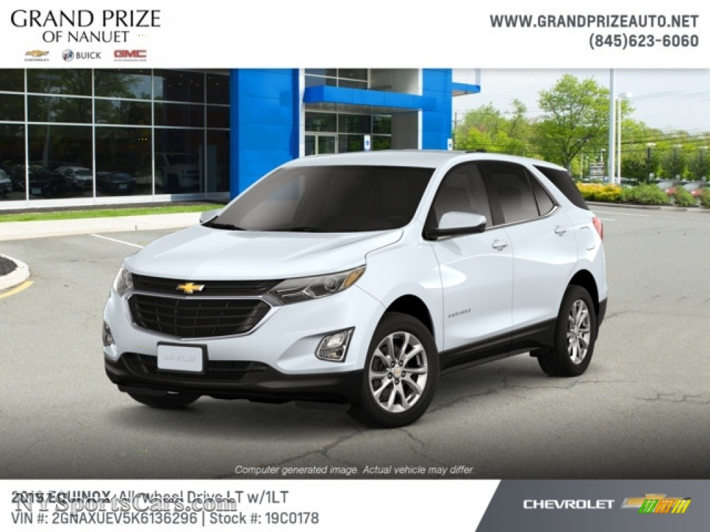 2019 Equinox LT AWD - Summit White / Jet Black photo #1