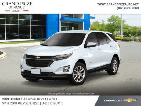 Summit White 2019 Chevrolet Equinox LT AWD