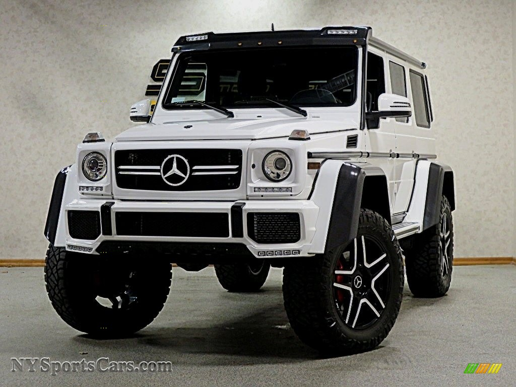 2017 G 550 4x4 Squared - Polar White / designo Black photo #1