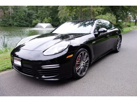 Black 2016 Porsche Panamera Turbo