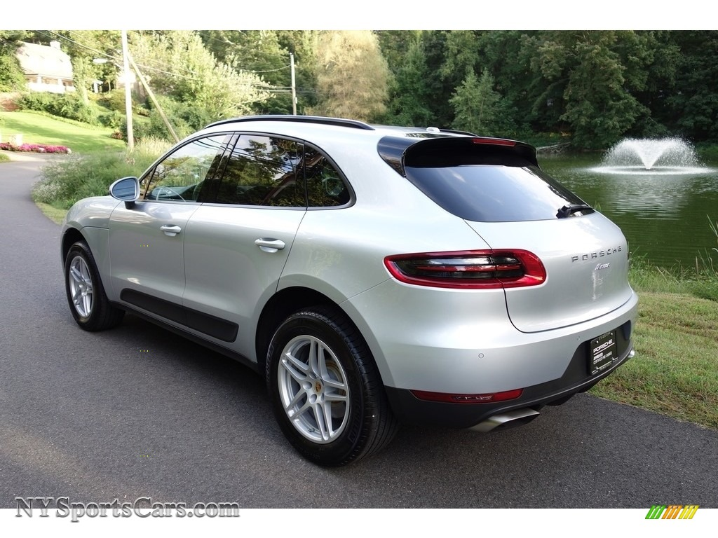 2018 Macan  - Rhodium Silver Metallic / Black photo #4
