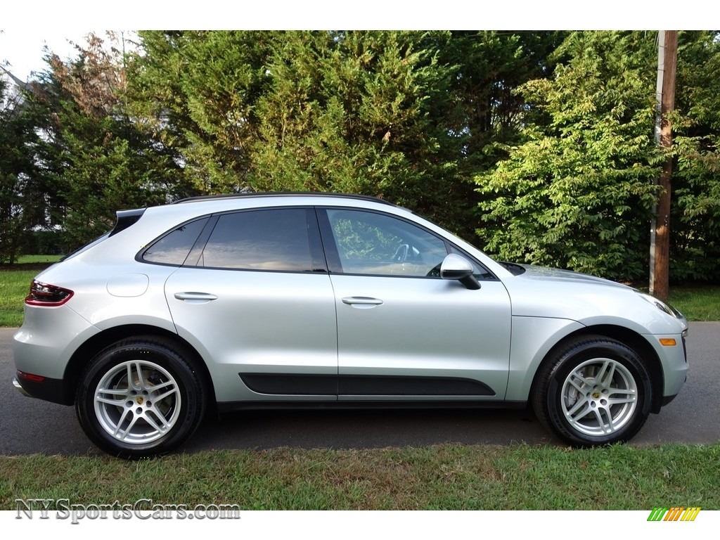 2018 Macan  - Rhodium Silver Metallic / Black photo #7