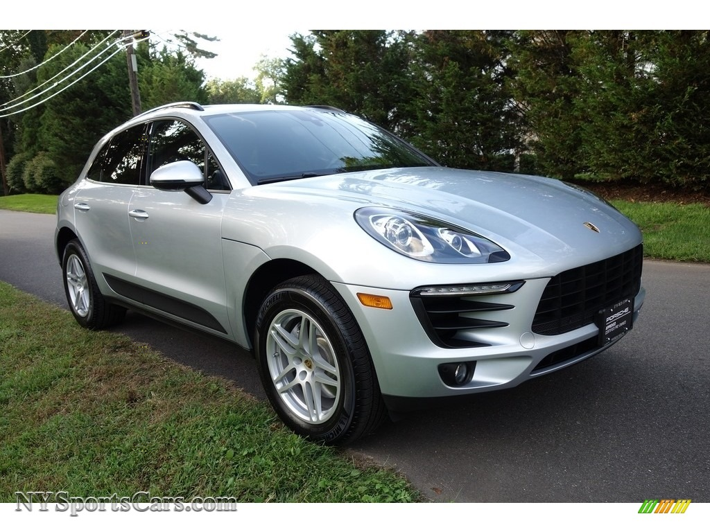 2018 Macan  - Rhodium Silver Metallic / Black photo #8