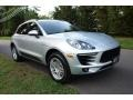 Porsche Macan  Rhodium Silver Metallic photo #8