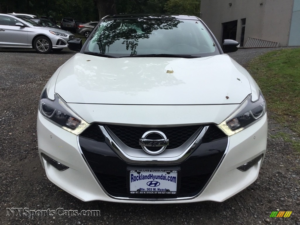 2016 Maxima SL - Pearl White / Charcoal photo #2