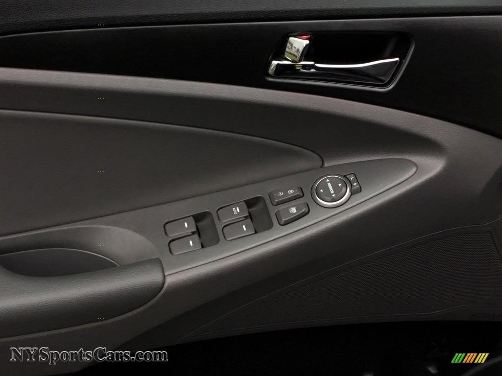 2011 Sonata GLS - Black Plum Pearl / Gray photo #9