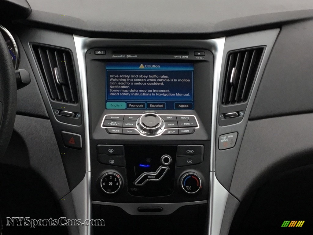 2011 Sonata GLS - Black Plum Pearl / Gray photo #13