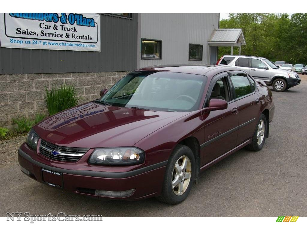 2003 Chevrolet Impala LS in Berry Red Metallic - 302100 ...