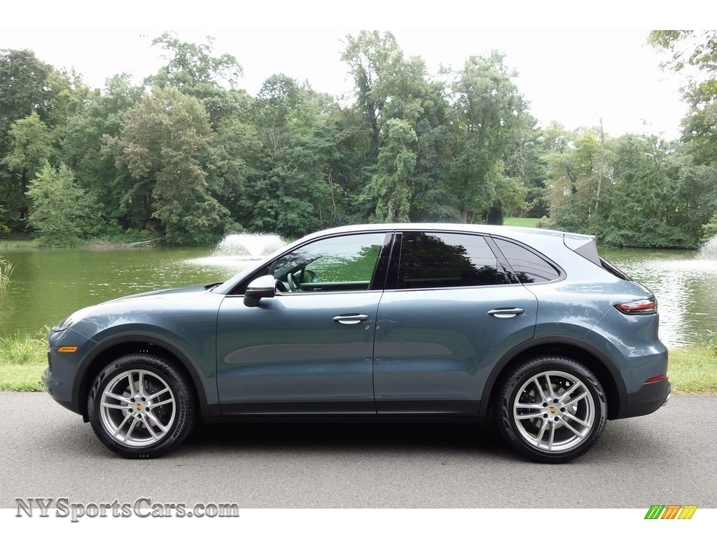 2019 Cayenne  - Biscay Blue Metallic / Black photo #7