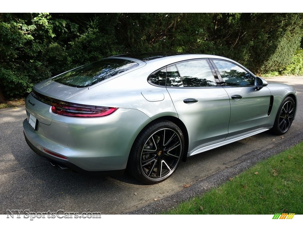 2018 Panamera 4S - Rhodium Silver Metallic / Black photo #4