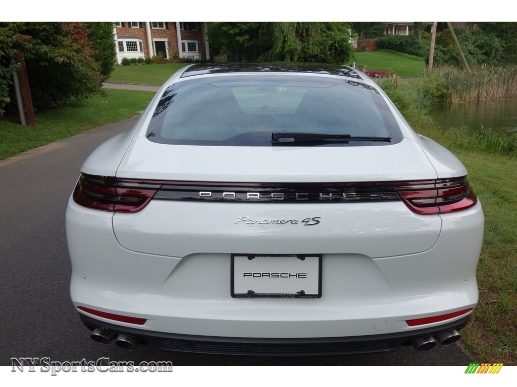 2018 Panamera 4S - White / Black photo #5