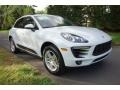 Porsche Macan  White photo #1