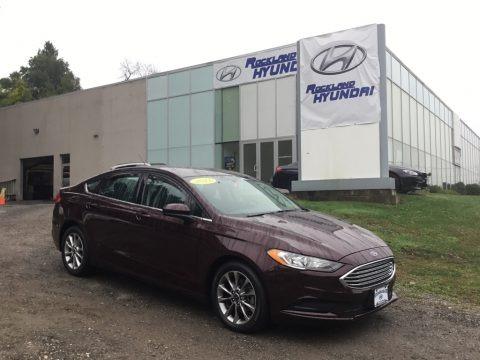 Burgundy Velvet 2017 Ford Fusion SE