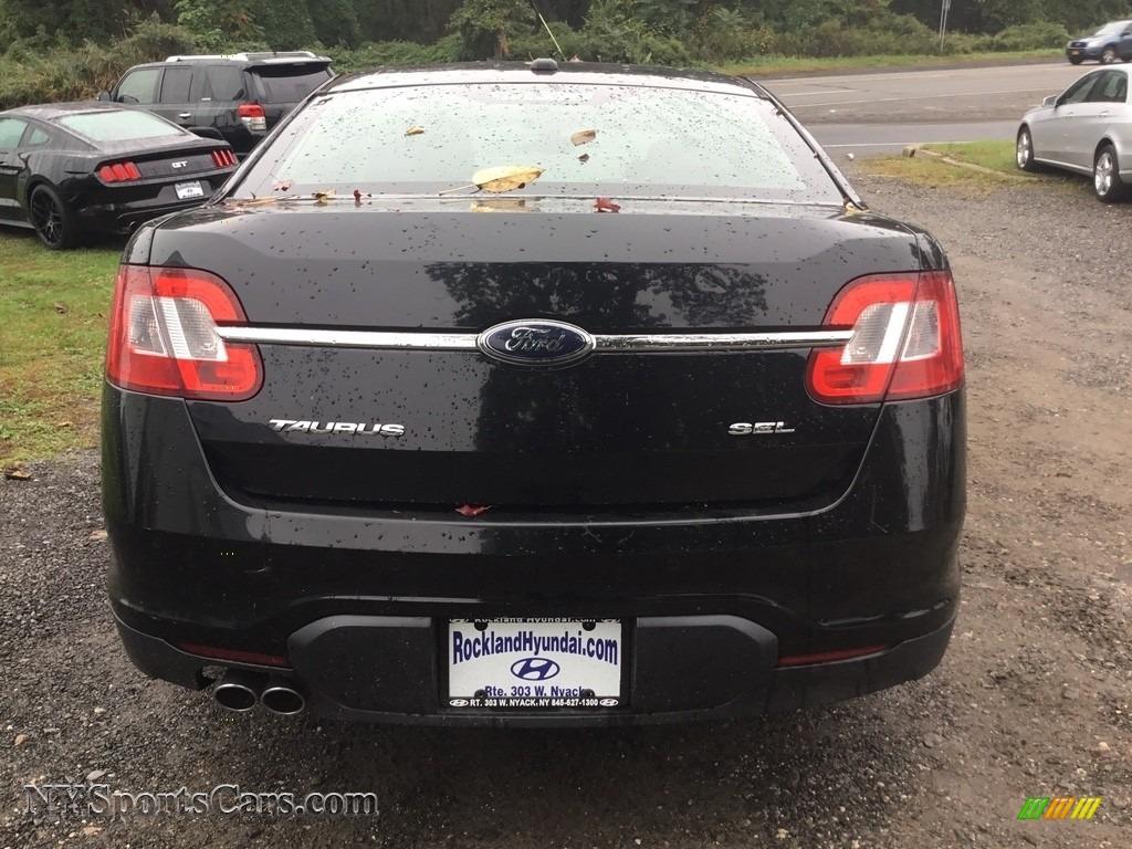 2011 Taurus SEL - Ebony Black / Charcoal Black photo #5