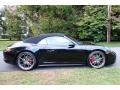 Porsche 911 Carrera 4S Cabriolet Jet Black Metallic photo #7