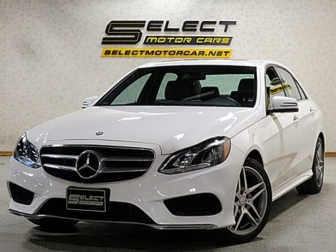 Polar White 2016 Mercedes-Benz E 350 4Matic Sedan