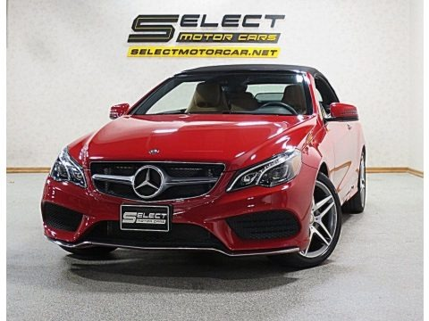 Mars Red 2016 Mercedes-Benz E 400 Cabriolet